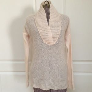 50%OFF J. Crew Dolce Shawl Collar Mohair Sweater
